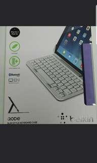Belkin Bluetooth keyboards for iPad air 藍牙鍵盤 有瑕疵