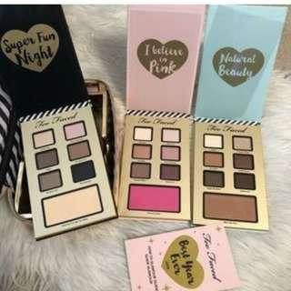 TOO FACED BEST YEAR EVER 2018 HOLIDAYS SET - 3x EYESHADOW PALETTES + MASCARA Brand New & Authentic (NO SWAPS, PRICE IS FIRM) WHILE STOCKS LAST