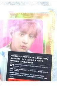 [Readystock] EXO CHANYEOL OFFICIAL WALLET CARD FROM COEX SUM OFFICIAL SM STORE KOREA