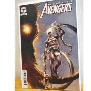 AVENGERS #7 1:50 Clayton Crain Variant Cover - Origin Ghost Rider - NM