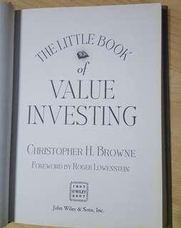 The Litttle Book of Value Investing