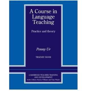 🚚 《A Course in Language Teaching: Practice of Theory (Cambridge Teacher Training and Development)》Cambridge University Press│Ur, Penny│九成新