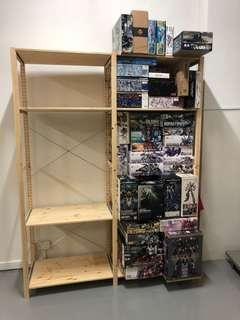 Storage rack rental for hobby kits (North area)