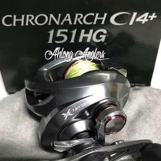 Shimano Chronarch C14+ 151HG BC Rell