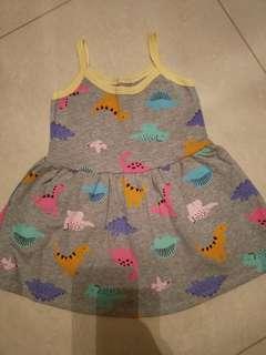 Baby girl carters dress 1y
