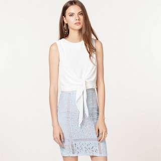 *55% OFF* BNWT The Closet Lover Serena Lace Skirt