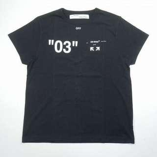 Off White For All 03 Arrows Black Tee
