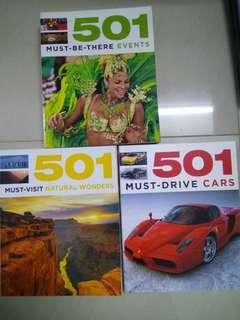 501 Encyclopedia 3 sets
