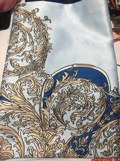 Hijab silk motif