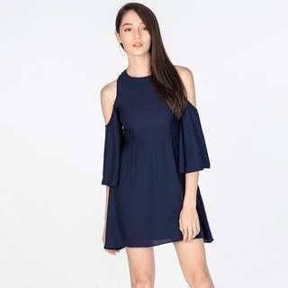 *55% OFF* BNWT The Closet Lover Charlotte Cold Shoulder Dress