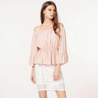 *55% OFF* BNWT The Closet Lover Camille Off-Shoulder Top