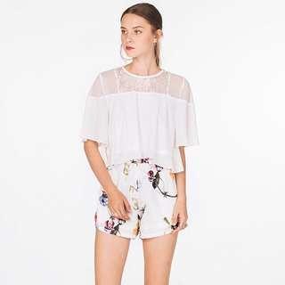 *55% OFF* BNWT The Closet Lover Aurora Floral Shorts