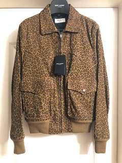 全新saint laurent Paris leather jacket Sz 46 new (原價$39900)