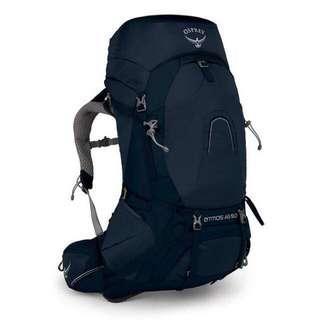 Osprey ATMOS AG™ 50 Backpack/ Haversack/ Thru -Hikking / Unity Blue