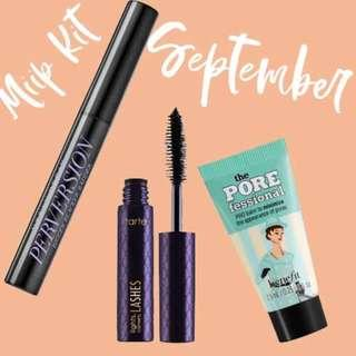 Miip Kit September 2018 // Benefit Cosmetics, Urban Decay, Tarte