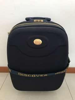 Discover Blue 20.5 Inches Luggage 2 Wheels