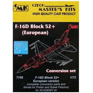 BNIB CMK #7156 1/72 Conversion set for F-16D BLOCK 52+ European version (Very Rare)