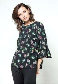 flowers blouse the executive