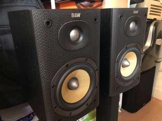 B&W DM600 S3 書架喇叭 speaker