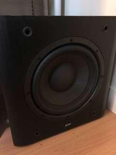 B&W ASW600 重低音喇叭 subwoofer