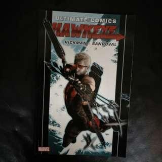 Marvel Comic Ultimate Comics Hawkeye 2012 TPB by Jonathan Hickman & Rafa Sandoval !