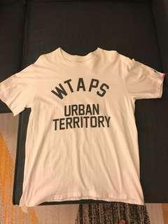 WTAPS TEE WHITE SIZE L
