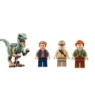 Lego Jurassic World Bundle - Dinosaur, owen and villian