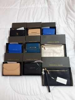 AUTH. CHARLES AND KEITH MEDIUM PURSE