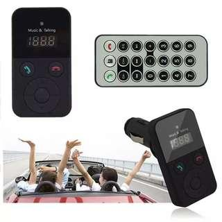 🚚 Wireless Bluetooth FM Transmitter Modulator Car Kit MP3 Player
