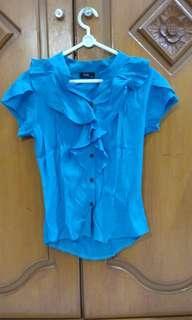 Hosc - baju kerja turquoise