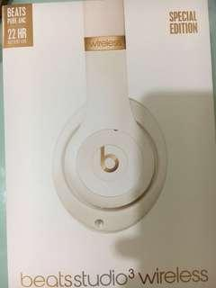 Beat studio 3 wireless 99%new