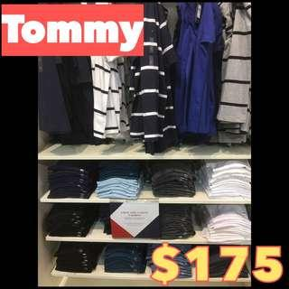 Tommy男裝tee$175