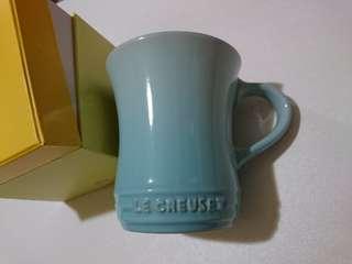 Le Creuset pastel blue small mug cup 杯