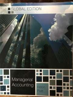 Global edition managerial accounting hilton platt