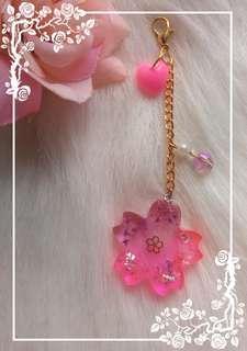 Sakura Bag charm
