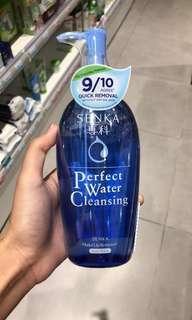 Senka Perfect Water Cleansing 300ml pump