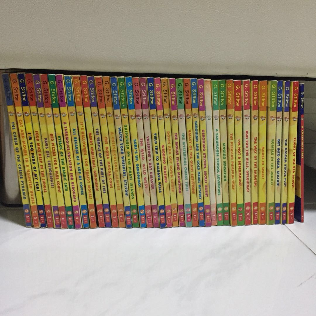 40 Geronimo Stilton Books, Books & Stationery, Fiction on