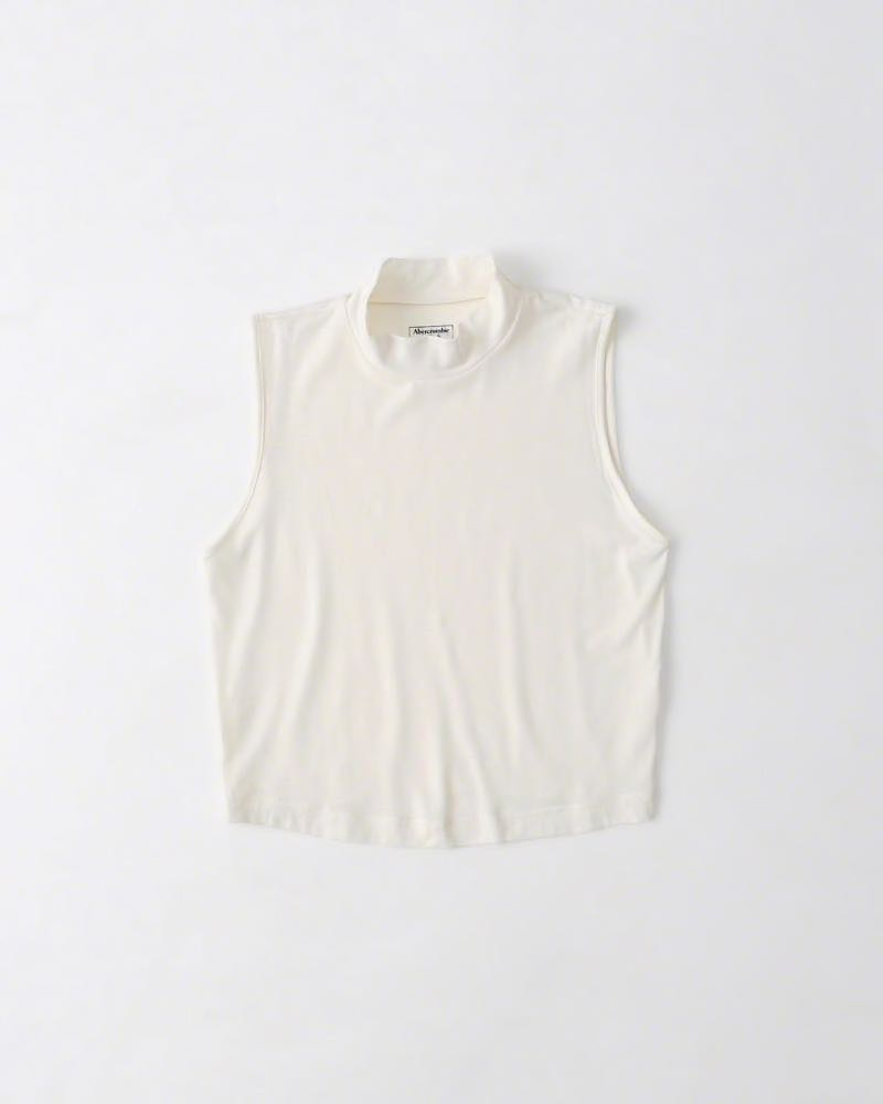aae36292e5aaa3 Abercrombie   Fitch Crop Top White