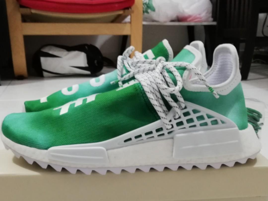 c2ecffaffc7ca Adidas NMD China Human Race Pharrell William ( Green youth) Size UK9 ...