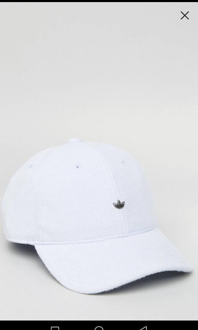 2290601d Adidas originals towelling cap in light blue, Men's Fashion ...