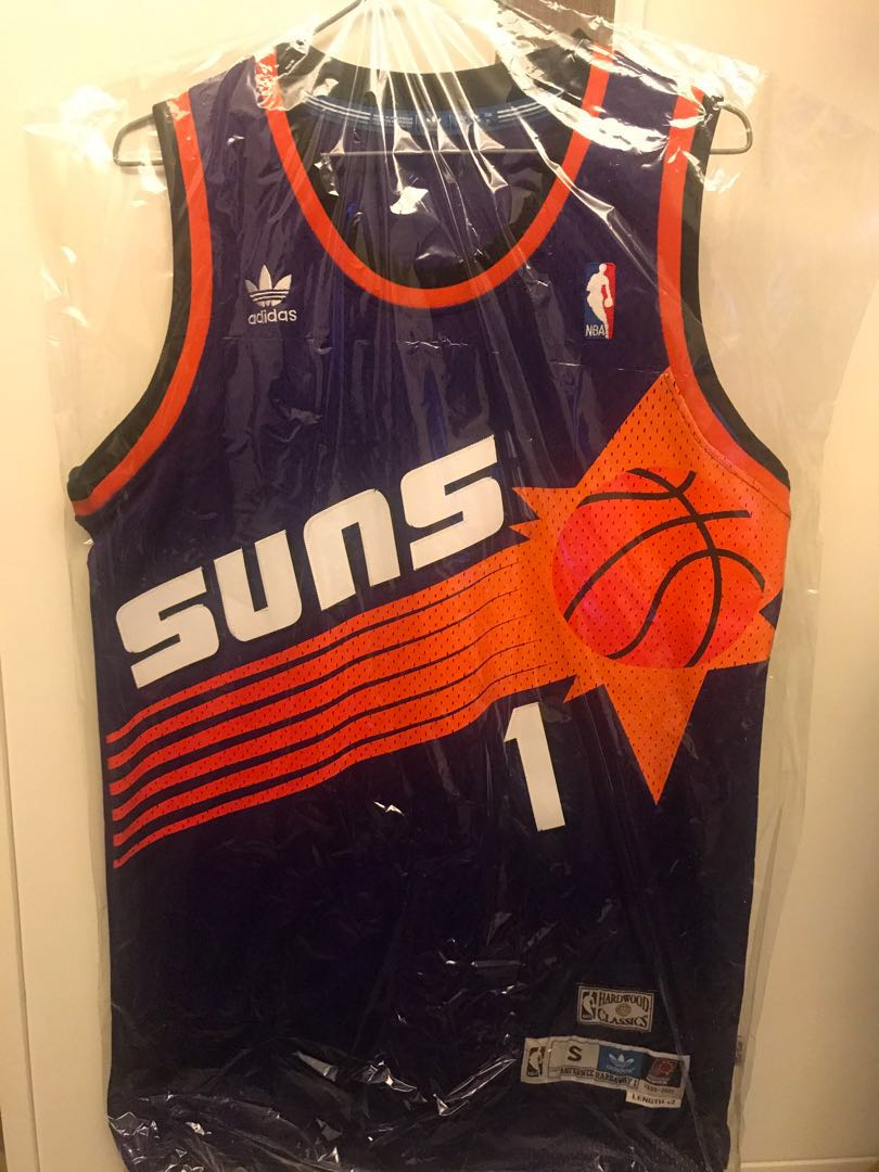 cheap for discount ffb11 42a99 Adidas Penny Hardaway Suns Hardwood Classics Jersey 太陽 復古 size S