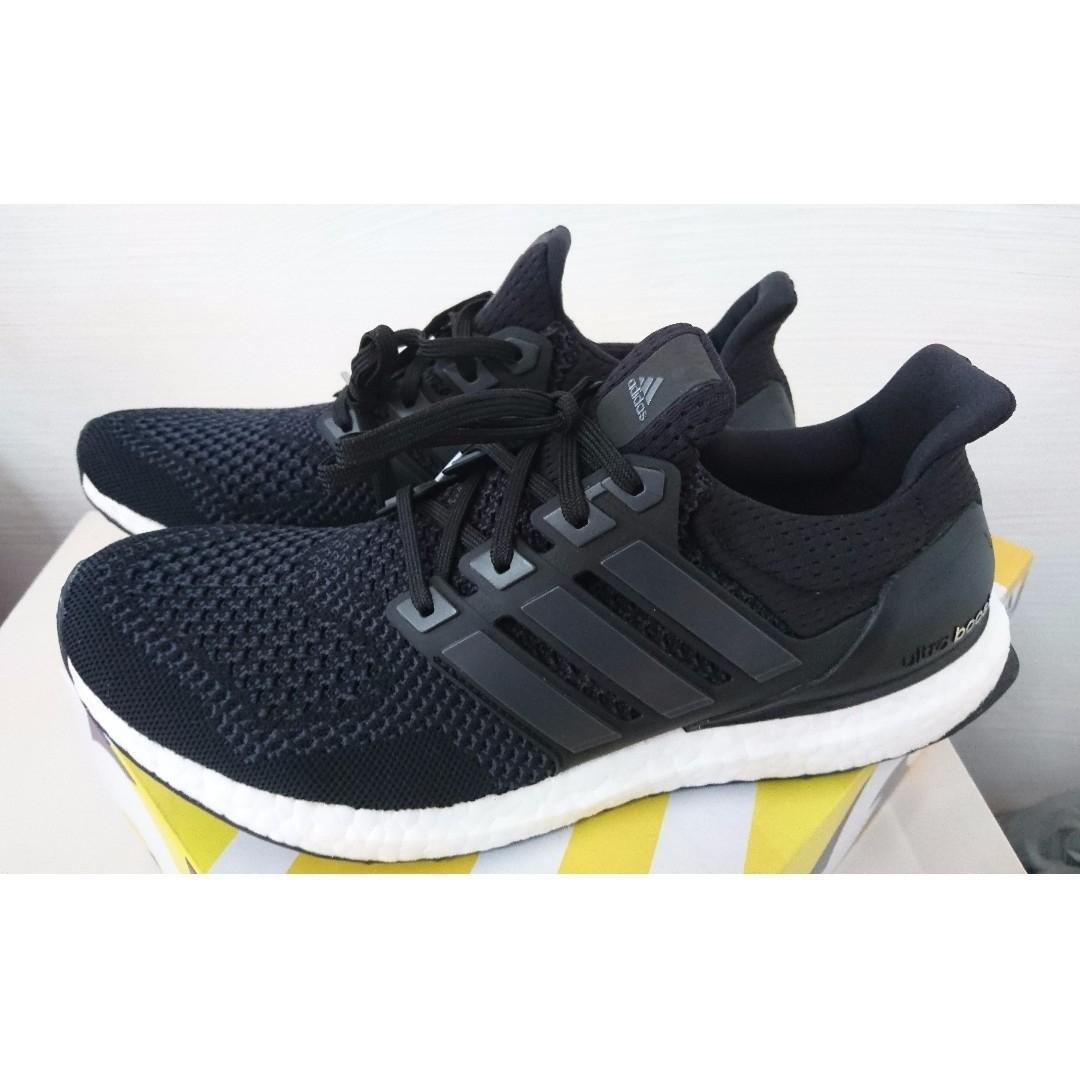 reputable site 6454b b8af1 Adidas Ultra Boost 1.0 Core Black [US9], Men's Fashion ...