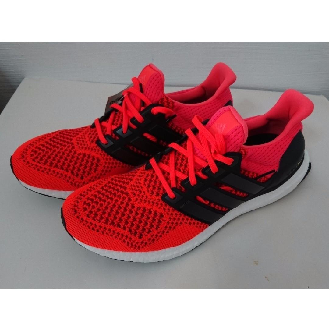 2217f9205cdd3 Adidas Ultra Boost 1.0 Solar Red  US9
