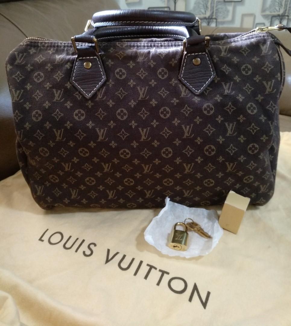 33a61323787d Reduced  350 Authentic louis Vuitton Speedy 30 Monogram Mini Lin ...