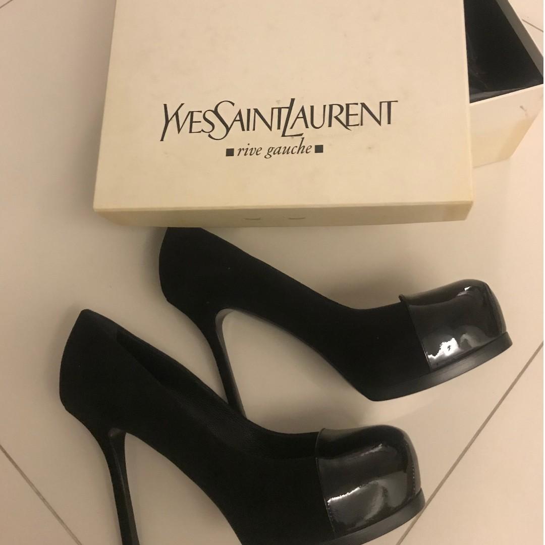 640b34d4a6f authentic ysl tribute heels - brand new unworn