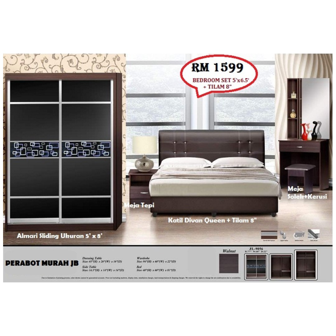 Bedroom Set 5feet Mattress 8 New Home Furniture On Carou