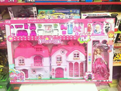 Big Size Doll House Toys Games Toys On Carousell