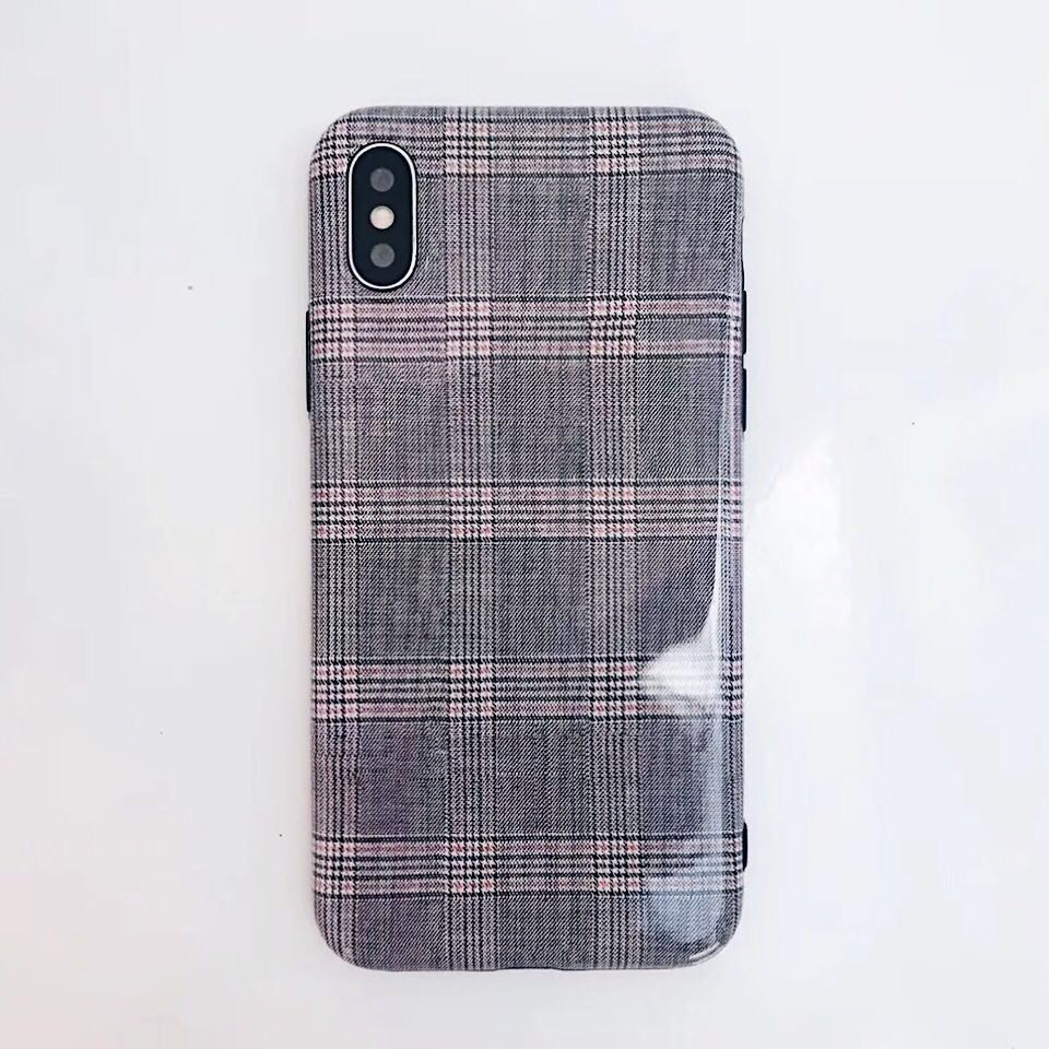 the best attitude 71c4d 30deb Pink Checkered iPhone case