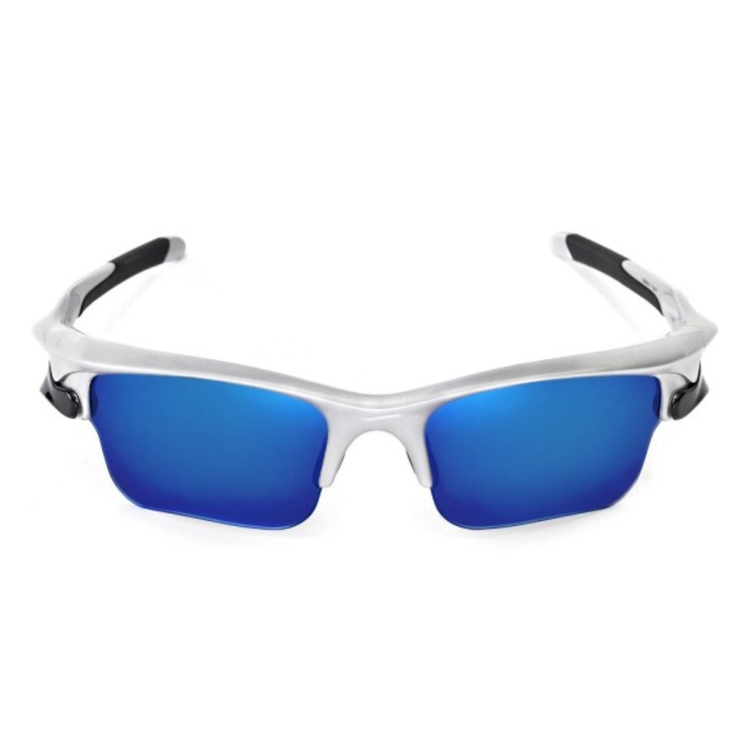 3af74c24d0 Fast Jacket Ice Blue POLARIZED Walleva Replacement XL Lenses for Oakley  Fast Jacket Sunglasses