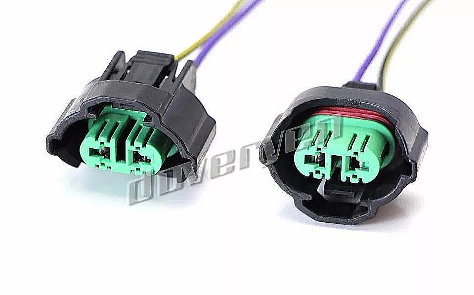 2 x H8 H9 H11 881 Wiring Harness Socket For ... Halogen H Headlight Wiring Harness on